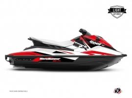 Graphic Kit Jet-Ski Stage Yamaha EX White Red LIGHT