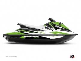 Graphic Kit Jet-Ski Stage Yamaha EX White Green