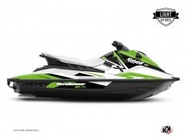 Graphic Kit Jet-Ski Stage Yamaha EX White Green LIGHT