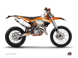 KTM EXC-EXCF Dirt Bike Stage Graphic Kit Orange