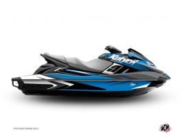 Graphic Kit Jet Ski Stage Yamaha FZR-FZS Blue Black