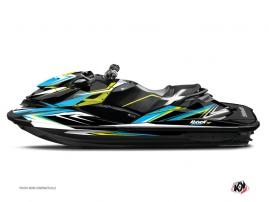 Graphic Kit Jet Ski Stage Seadoo GTR-GTI Yellow Blue