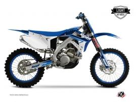 TM MX 250 Dirt Bike Stage Graphic Kit Blue LIGHT
