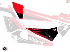 Graphic Kit Doors Origin Low Stage UTV Polaris RZR 900S/1000/Turbo 2015-2017 Black Red