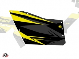 Graphic Kit Doors Origin Polaris Stage UTV Polaris RZR 570/800/900 2008-2014 Black Yellow