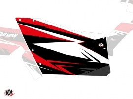 Graphic Kit Doors Origin Polaris Stage UTV Polaris RZR 570/800/900 2008-2014 Black Red