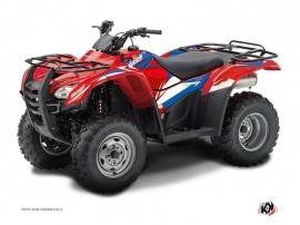 Graphic Kit ATV Stage Honda Rancher 420 Blue Red