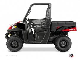 Polaris Ranger 570 UTV Stage Graphic Kit Black Red