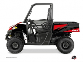 Polaris Ranger 900 UTV STAGE Graphic kit Black Red