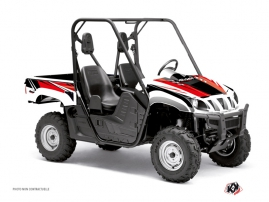 Graphic Kit UTV Stage Yamaha Rhino Black Red