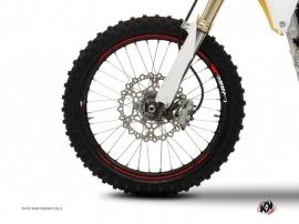 Graphic Kit Wheel decals Dirt Bike Stage Red