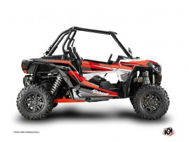 Graphic Kit UTV Stage Polaris RZR 1000 Black Red