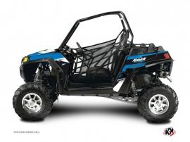 Polaris RZR 900 XP UTV Stage Graphic Kit Blue