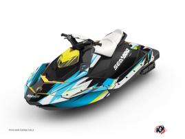 Graphic Kit Jet Ski Stage Seadoo Spark Yellow Blue