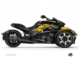 Graphic Kit Stage Can Am Spyder F3 Yellow