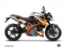 Graphic Kit Street Bike Stage KTM Super Duke 990 Orange