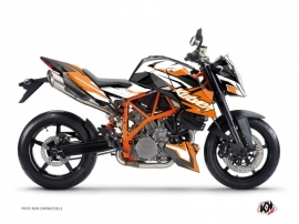 Graphic Kit Street Bike Stage KTM Duke 990 R Orange