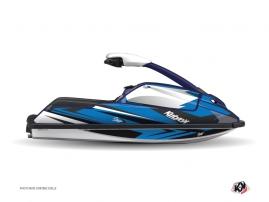 Graphic Kit Jet Ski Stage Yamaha Superjet Blue Black