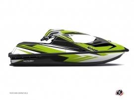 Graphic Kit Jet Ski Stage Kawasaki SX-R Green