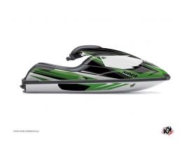 Graphic Kit Jet Ski Stage Kawasaki SXI 750 Green