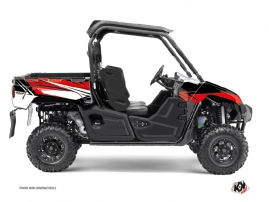 Graphic Kit UTV Stage Yamaha Viking Black Red