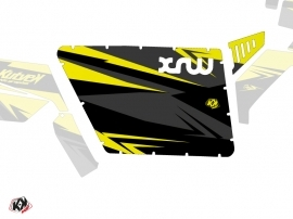 Graphic Kit Doors Standard XRW Stage UTV Polaris RZR 570/800/900 2008-2014 Black Yellow