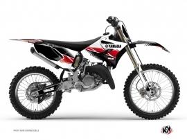 Yamaha 125 YZ Dirt Bike STRIPE Graphic kit Red