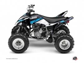 Yamaha 250 Raptor ATV STRIPE Graphic kit Black