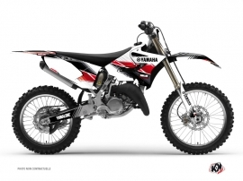 Graphic Kit Dirt Bike Stripe Yamaha 250 YZ Red