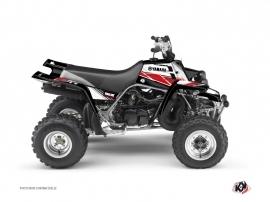 Graphic Kit ATV Stripe Yamaha Banshee Red