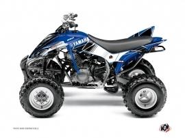 Graphic Kit ATV Stripe Yamaha 350 Raptor Blue