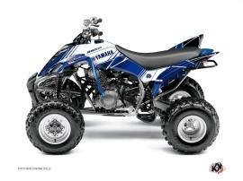 Graphic Kit ATV Stripe Yamaha 350 Raptor Night Blue
