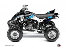 Graphic Kit ATV Stripe Yamaha 350 Raptor Black