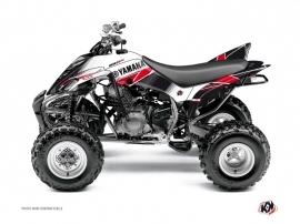 Graphic Kit ATV Stripe Yamaha 350 Raptor Red