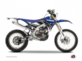 Yamaha 450 WRF Dirt Bike STRIPE Graphic kit Blue