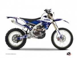 Yamaha 450 WRF Dirt Bike STRIPE Graphic kit Night Blue