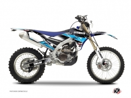 Graphic Kit Dirt Bike Stripe Yamaha 450 WRF Noir