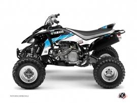 Yamaha 450 YFZ ATV STRIPE Graphic kit Black