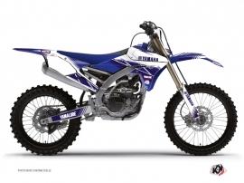 Graphic Kit Dirt Bike Stripe Yamaha 450 YZF Night Blue