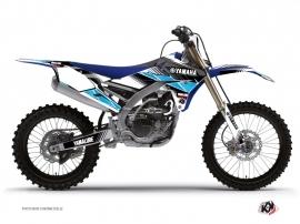 Graphic Kit Dirt Bike Stripe Yamaha 450 YZF Black