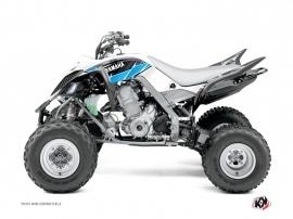 Graphic Kit ATV Stripe Yamaha 660 Raptor Black