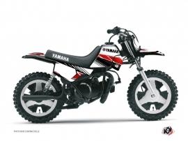 Graphic Kit Dirt Bike Stripe Yamaha PW 50 Red