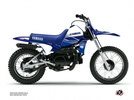 Yamaha PW 80 Dirt Bike STRIPE Graphic kit Night Blue