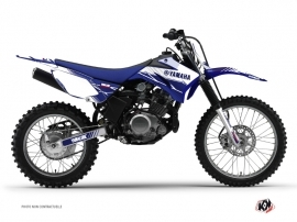 Graphic Kit Dirt Bike Stripe Yamaha TTR 125 Night Blue