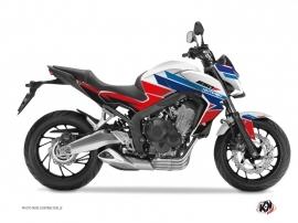 Graphic Kit Street Bike Swift Honda CB 650 F Red Blue
