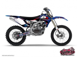 Yamaha 450 YZF Dirt Bike REPLICA TEAM 2B Graphic kit