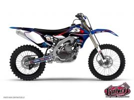 Graphic Kit Dirt Bike Yamaha 450 YZF Team 2B - 2011