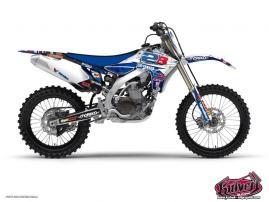 Graphic Kit Dirt Bike Yamaha 450 YZF Team 2B - 2013