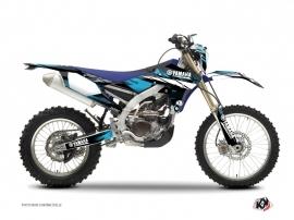 Graphic Kit Dirt Bike Techno Yamaha 250 WRF Blue
