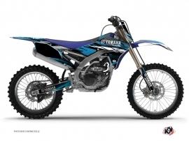 Graphic Kit Dirt Bike Techno Yamaha 250 YZF Blue